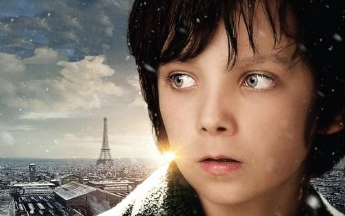 Foto della locandina del film di Hugo Cabret