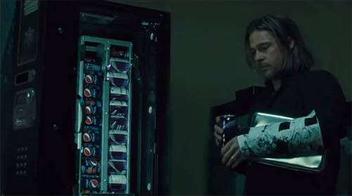 Il product placement Pepsi in World War Z