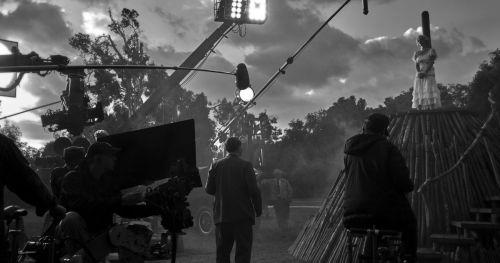 Atmosfere da set hollywoodiani
