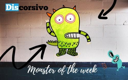 La nostra copertina con al centro un... monster of the week