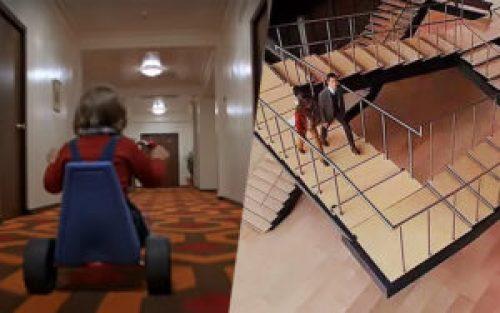 Due scene a confronto: Shining e Inception, entrambi molto ispirati da Escher