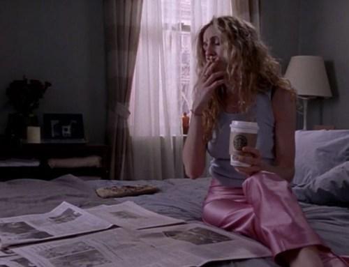 Una scena della prima stagione di Sex and The City