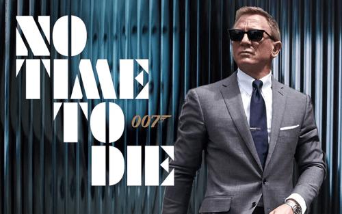 La locandina di 007 - No time to die (Credits: Mgm)