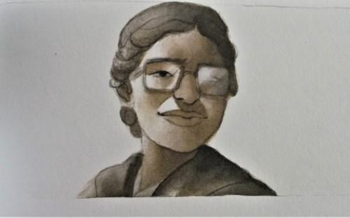 Primo piano di Rosa Parks