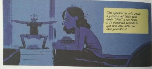 Altro interno del fumetto su Anne Frank