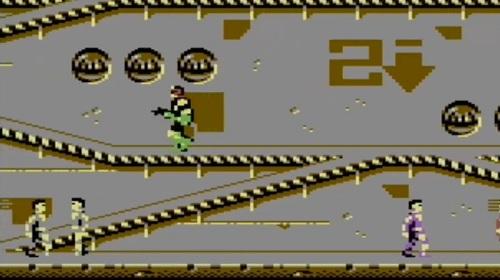 Schermata di gioco di Judge Dredd