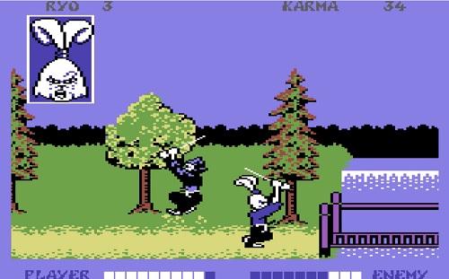 Usagi Yojimbo Commodore 64