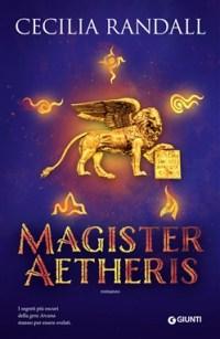 La copertina della seconda parte del fantasy italiano Istorie Arcane: Magister Aetheris