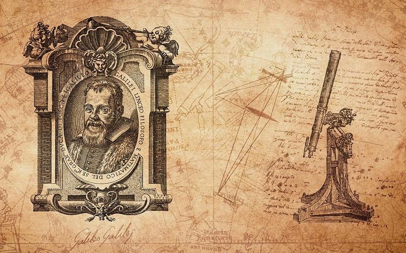 Vita di Galileo Galilei e il cannocchiale