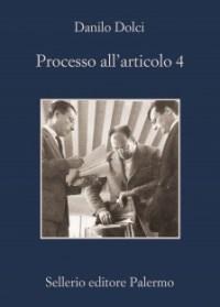 La copertina di Processo all'articolo 4
