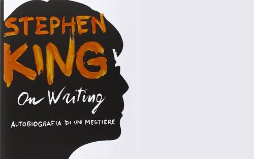 La copertina di on writing di stephen king
