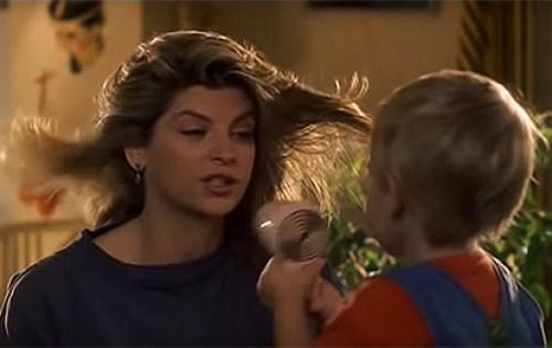 A proposito di desiderio di gravidanza, una scena di Senti chi parla, classico della commedia anni 80 con Kirstie Alley