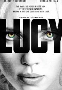Copertina del film Lucy di Luc Besson