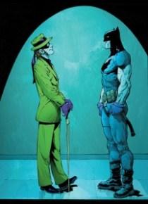 Edward Nygma vs Bruce Wayne