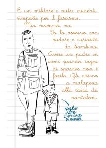 Pasolini e il padre (da Diario segreto di Pasolini)