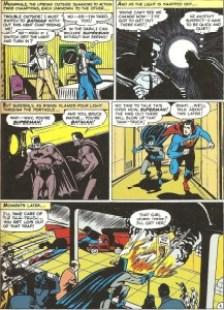 Il primo incontro tra Batman e Superman in Superman 76 (1952))