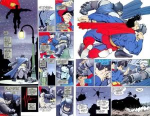 Batman e Superman si scontrano in Il Ritorno del Cavaliere Oscuro