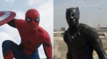 spiderman black panther marvel civil war