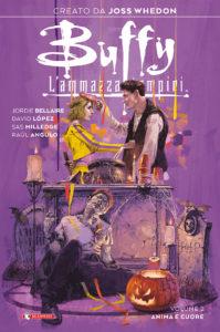Copertina 2 del fumetto di Buffy