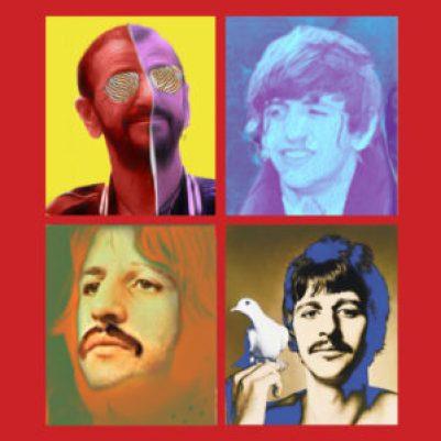 Gli 80 anni di Ringo Starr in quattro foto, ispirate alla copertina dell'album 1 dei Beatles