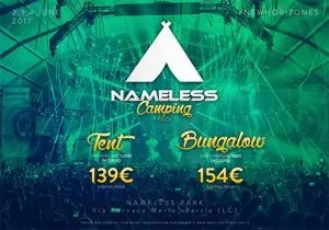 nameless 2017 pacchetti camping