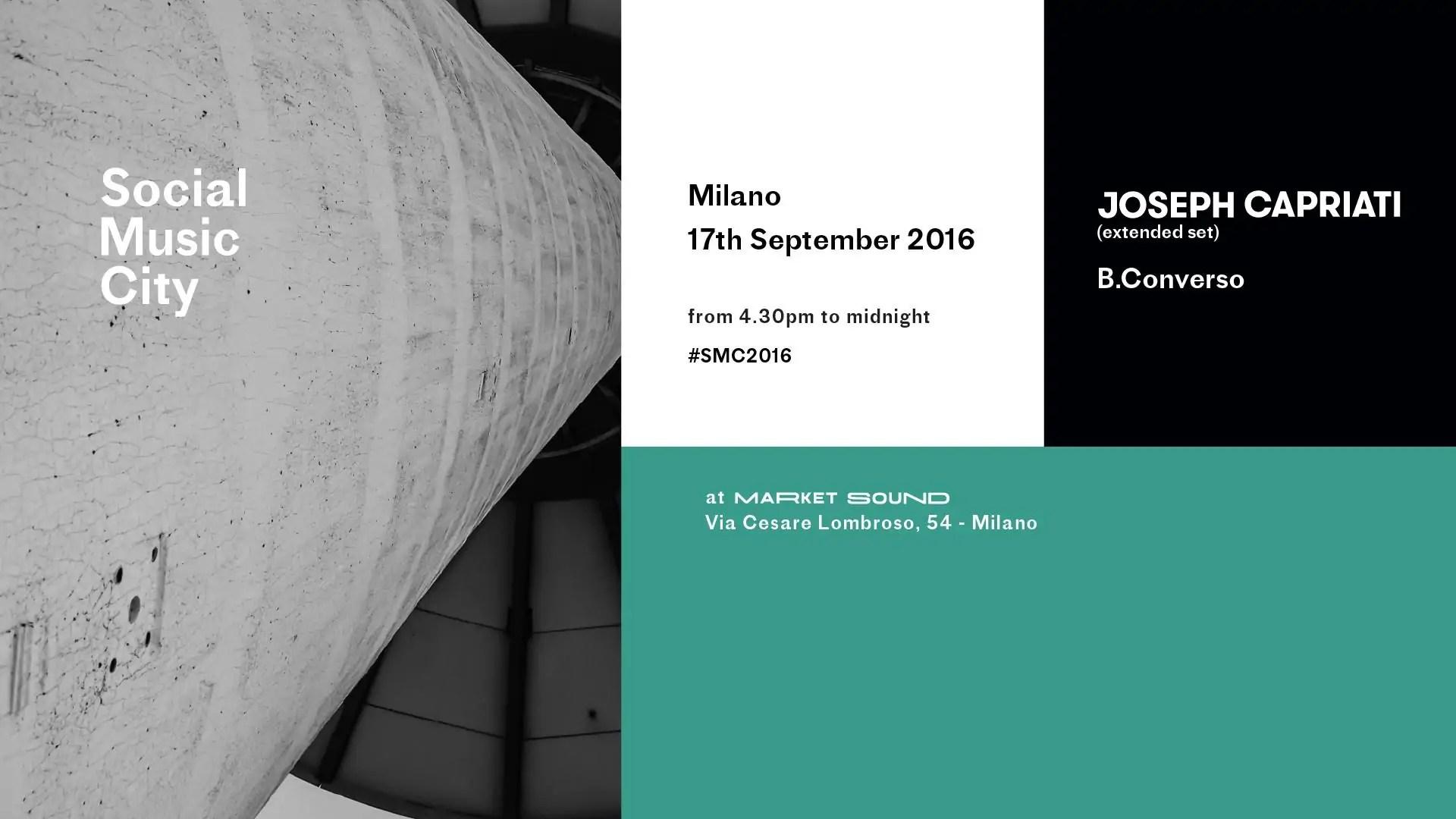 Joseph Capriati Social Musuc City 17 09 2016