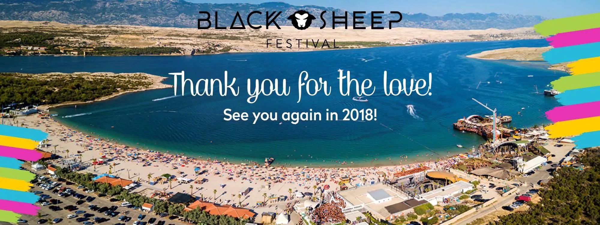 Black Sheep Festival 2018, Pag Croazia – Date – Lineup – Ticket – Appartamenti – Viaggio