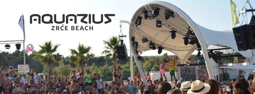 AQUARIUS PAG ZRCE CROAZIA EVENTI DJ PREZZI PACCHETTI FESTIVAL