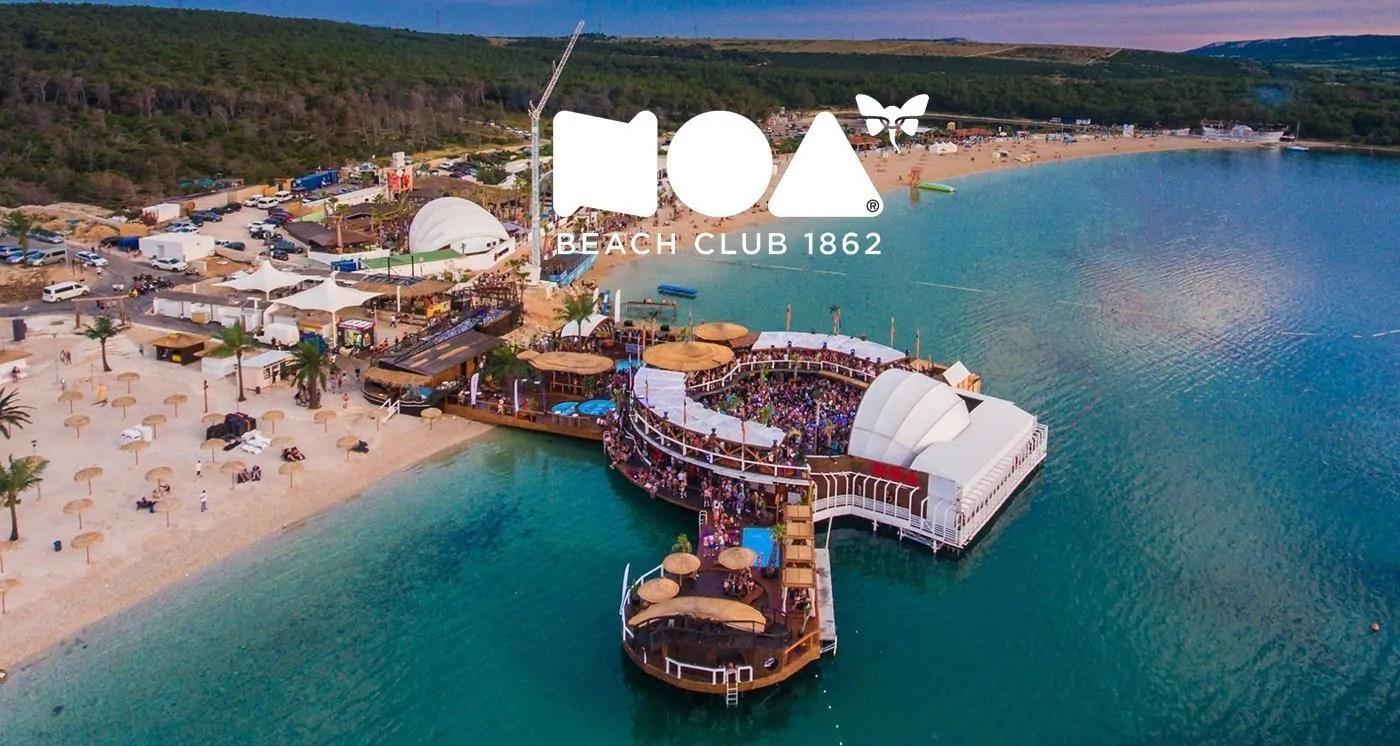 Noa Beach Club Zrce Beach Isola di Pag in Croazia
