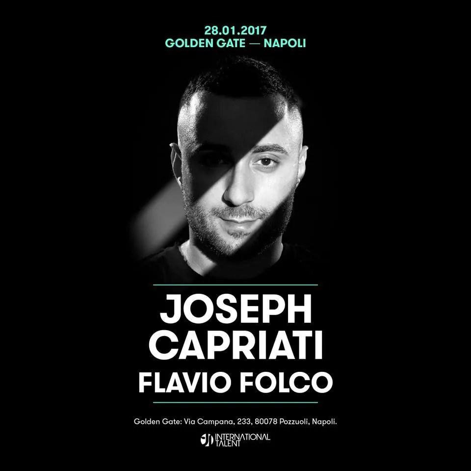 28 01 2017 Golden Gate JOSEPH CAPRIATI Napoli