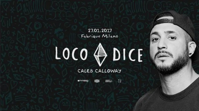 Loco Dice Fabrique Milano 27 01 2017