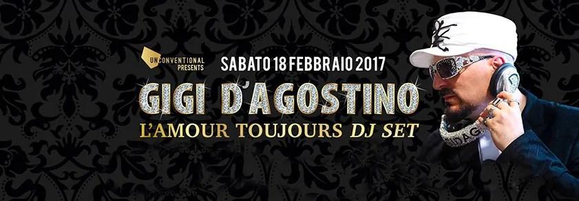 FABRIQUE MILANO GIGI D'AGOSTINO 18 02 2017 Prezzi PREVENDITE PACCHETTI Hotel Bus