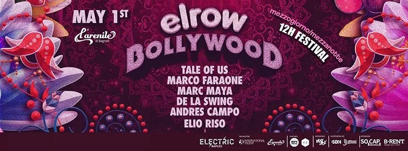 Elrow Arenile Napoli 01 Maggio 2017