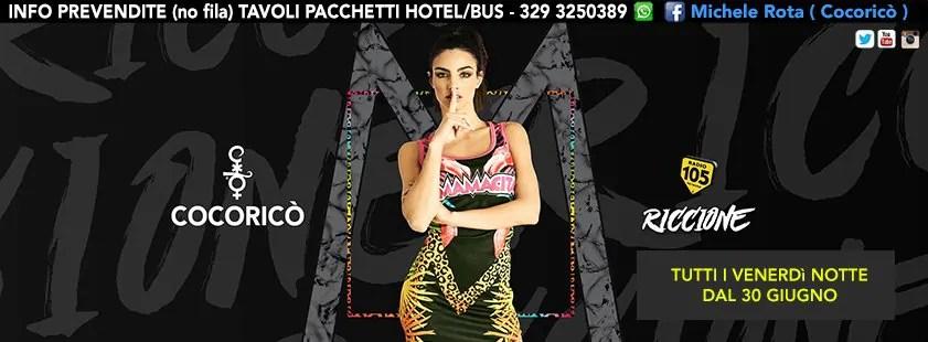 Venerdì 18 08 2017 MAMACITA COCORICO PREZZI PREVENDITE BIGLIETTI TAVOLI HOTEL + PULLMAN