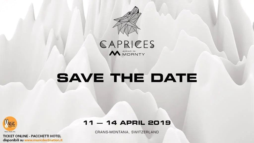 CAPRICES FESTIVAL 2019 11 – 14 Aprile 2019 Crans Montana Svizzera |  Lineup Prezzi Ticket Biglietti Pacchetti Hotel
