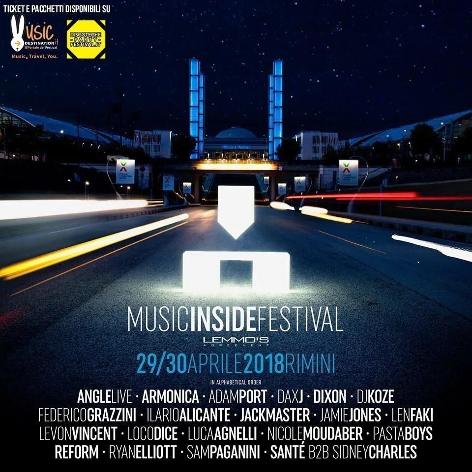 MIF MUSIC INSIDE FESTIVAL 2018 RIMINI