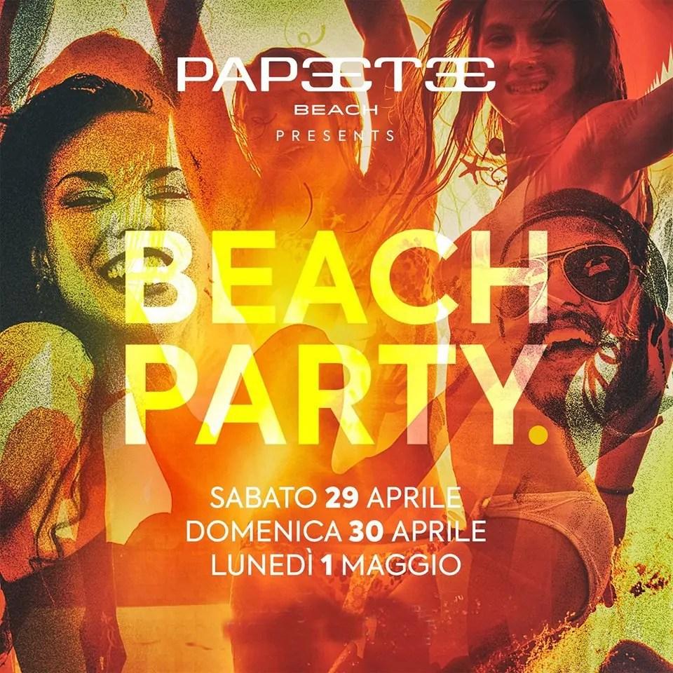 Papeete Beach 29 30 04 E 01 Maggio 2017