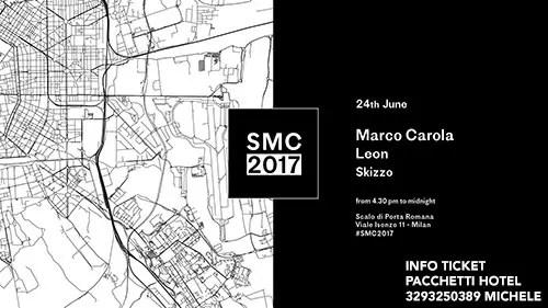 MARCO CAROLA SOCIAL MUSIC CITY 24 GIUGNO 2017 TICKET PACCHETTI HOTEL