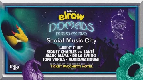 Elrow Social Music City 01 Luglio 2017 Milano