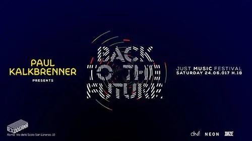 Paul Kalkbrenner Just Music Festival 24 Giugno 2017 Ticket Pacchetti Hotel
