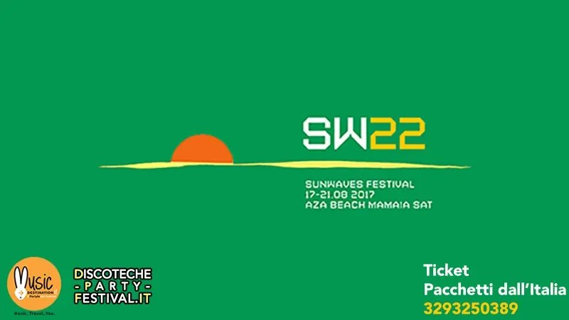 Sunwaves Festival 17 21 Agosto 2017 Ticket Pacchetti Hotel