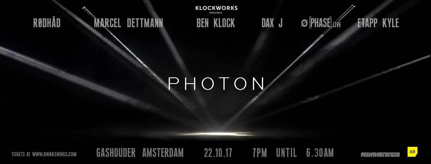22 10 2017 Awakenings Festival KLOCKWORKS NIGHT + Ticket + Hotel