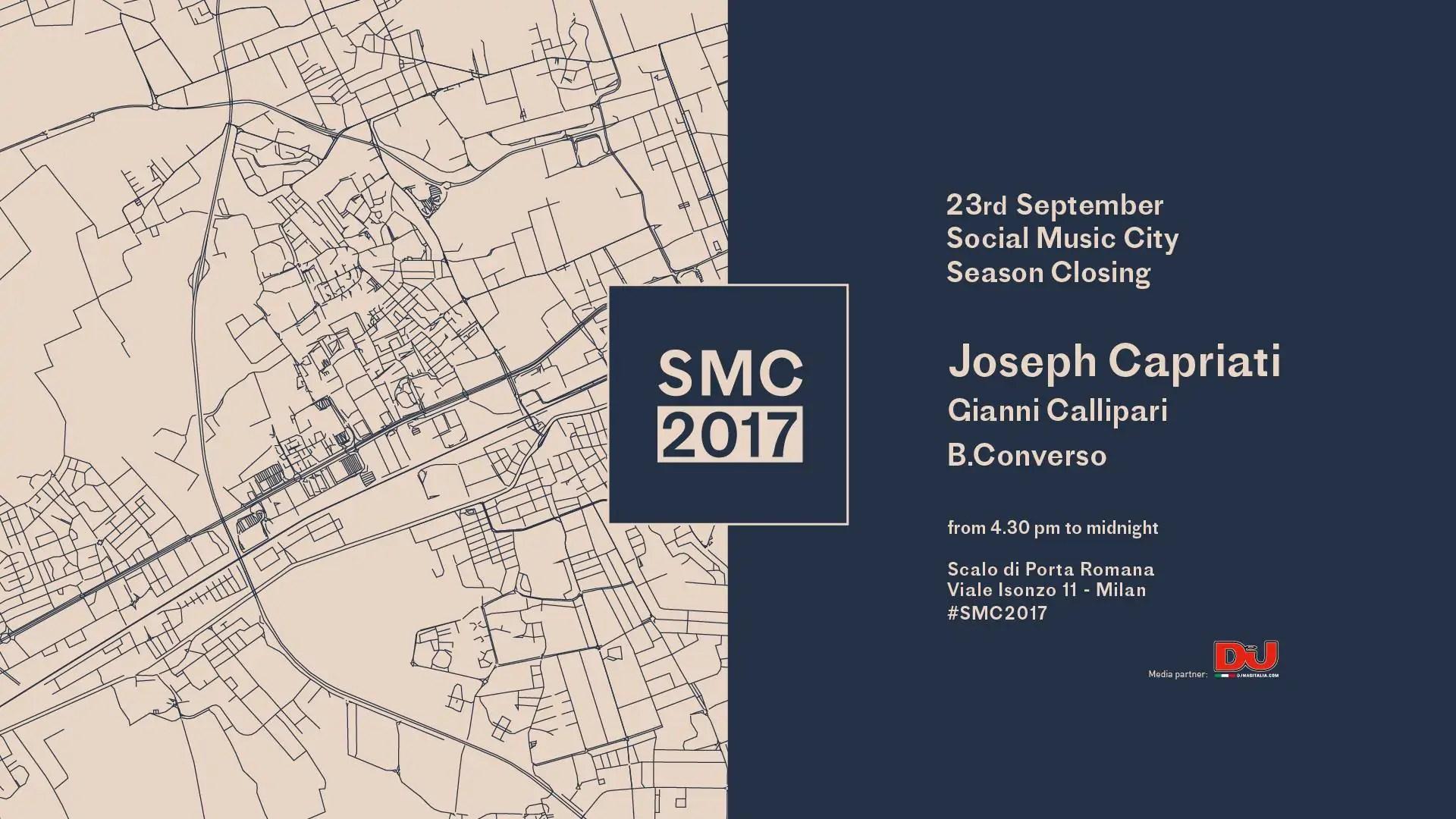 Joseph Capriati at SOCIAL MUSIC CITY Sabato 23 09 2017 MILANO Prezzi Ticket Biglietti Liste Tavoli Pacchetti Hotel Bus