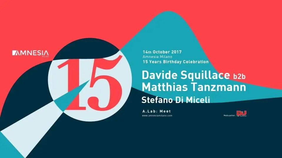 AMNESIA MILANO 14 10 2017 Prezzi Ticket Biglietti Prevendite Tavoli Pacchetti Hotel Bus