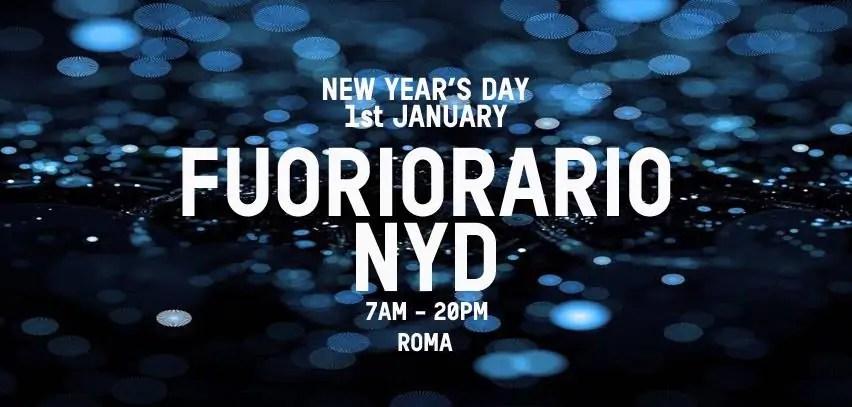 FUORIORARIO ATLANTICO LIVE AFTER COSMO CAPODANNO 2018 ROMA EUR 01 01 2018 + PREZZI PREVENDITE BIGLIETTI + PACCHETTI HOTEL PULLMAN
