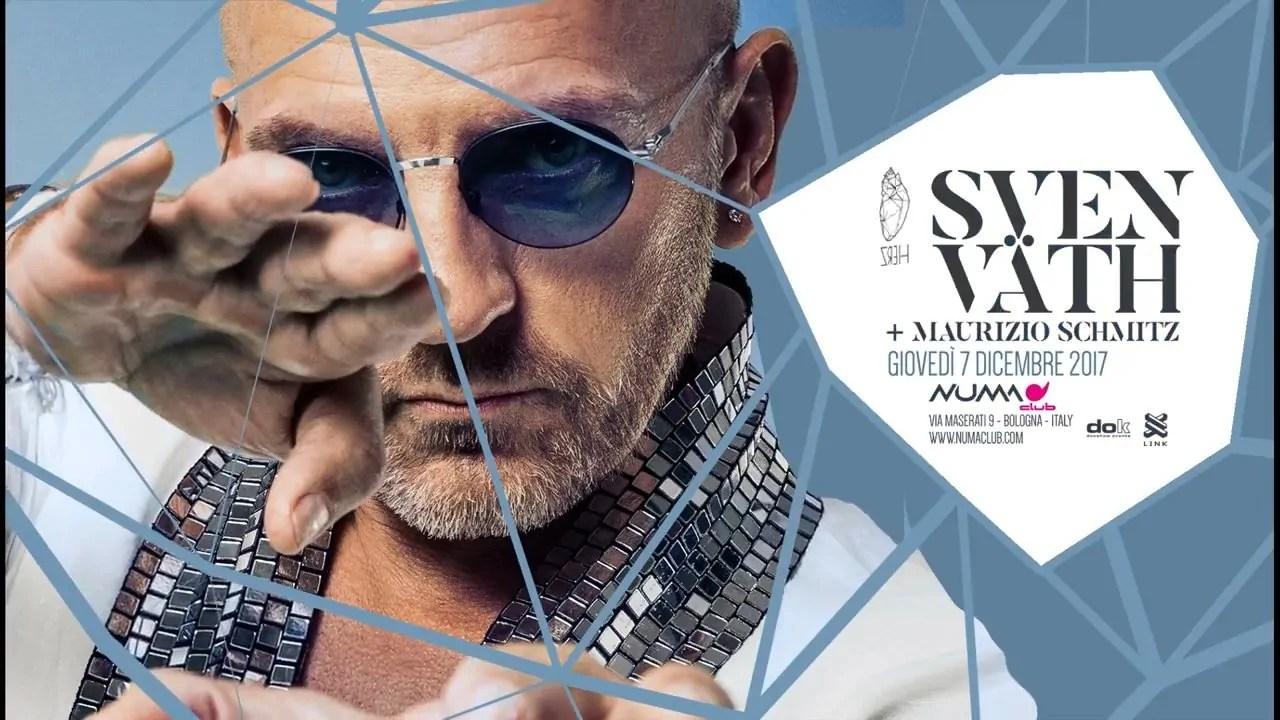 Sven Vath – NUMA Bologna – 07 12 2017 – Ticket – Pacchetti Hotel