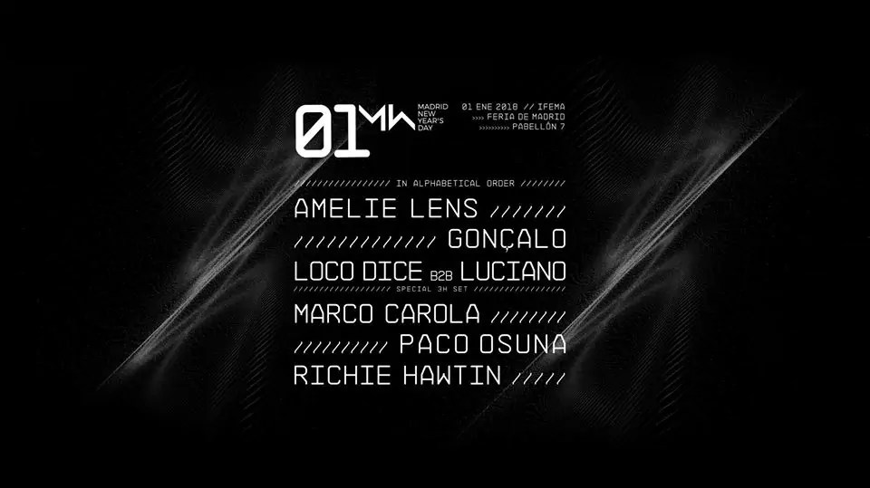 WAN FESTIVAL 2018 NYE MADRID 01 01 2018 | Ticket e Hotel
