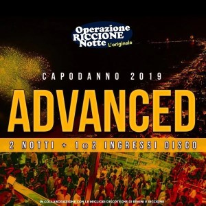 Pacchetto hotel + discoteche riccione capodanno 2019 ADVANCED quadrata1