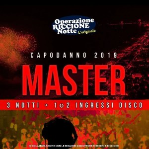Pacchetto hotel + discoteche riccione capodanno 2019 MASTER quadrata1