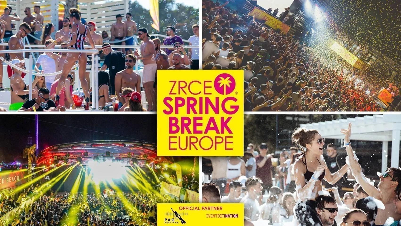 Zrce Spring Break Europe 29 Maggio- 01 Giugno 2020 Ticket + Appartamenti o Hotel